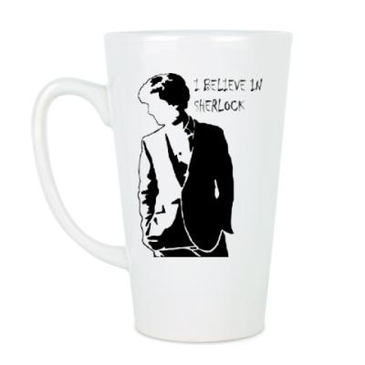 Чашка Латте Шерлок(Sherlock)