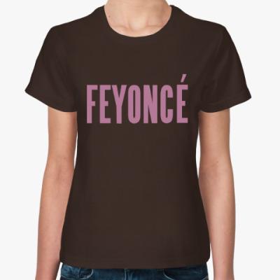 Женская футболка  FEYONCE