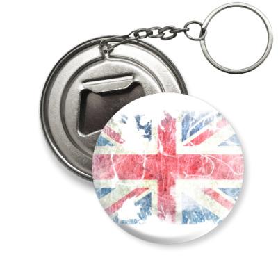Брелок-открывашка British flag