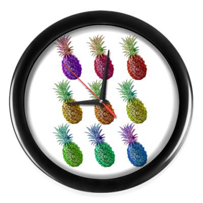 Настенные часы Pineapple