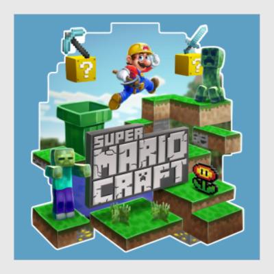 Постер Super Mario Craft