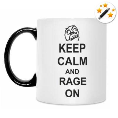 Кружка-хамелеон Rage on