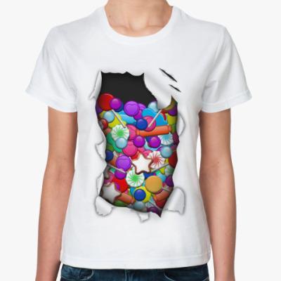 Классическая футболка Вкусняшки