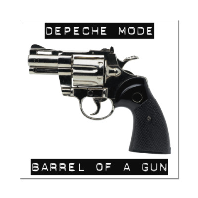 Наклейка (стикер)  Depeche Mode