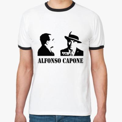 Футболка Ringer-T Аль Капоне