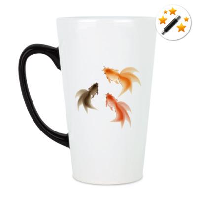 Кружка-хамелеон Рыбки
