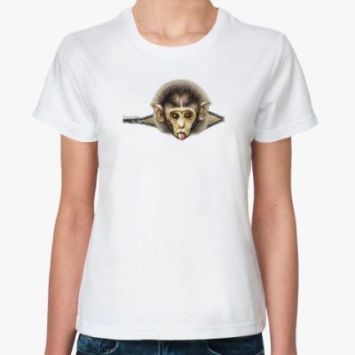 Классическая футболка Мартышонок
