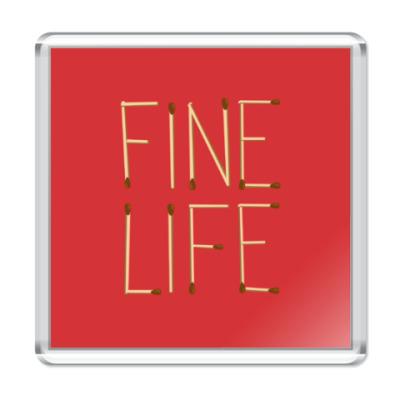 Магнит Fine Life