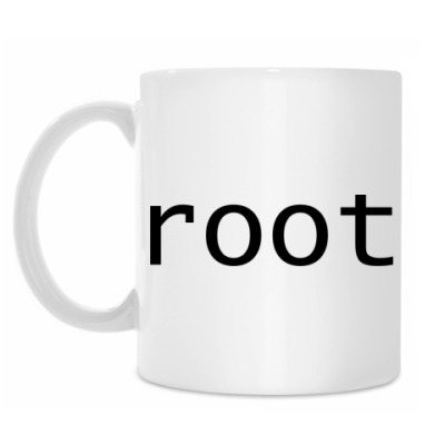 Кружка root (черный)