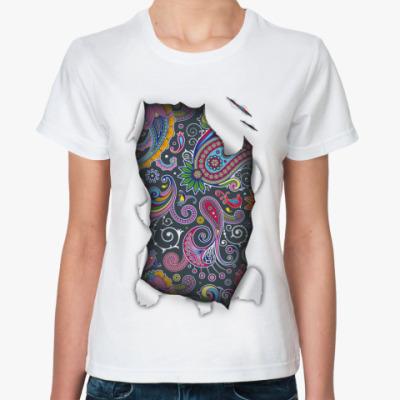 Классическая футболка Пейсли