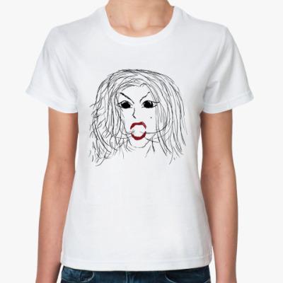 Классическая футболка Lady Gaga