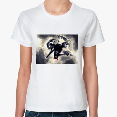 Классическая футболка Black Rock Shooter