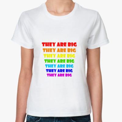 Классическая футболка They are big