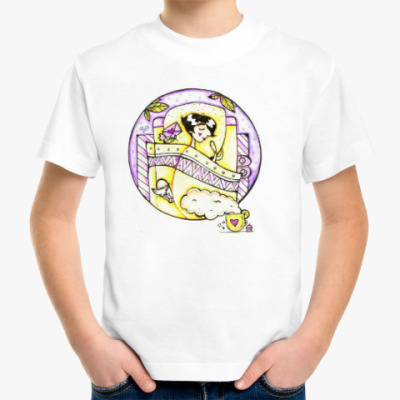 Детская футболка Сон