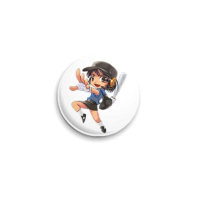 Значок 25мм Scout anime
