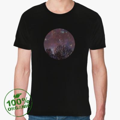 Футболка из органик-хлопка Ночное небо