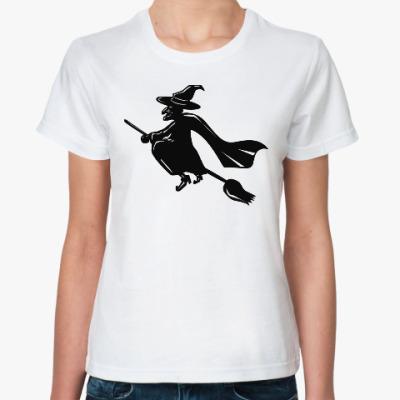 Классическая футболка Полет на шабаш