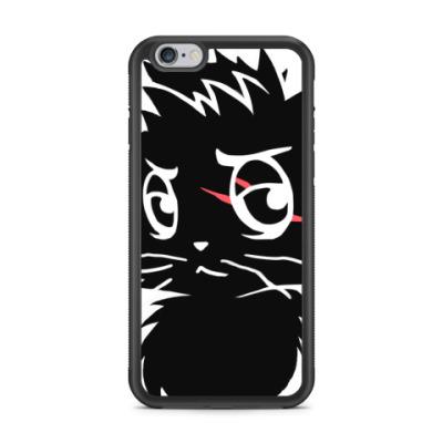 Чехол для iPhone Черный кот new