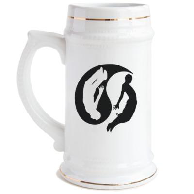 Пивная кружка Паркур