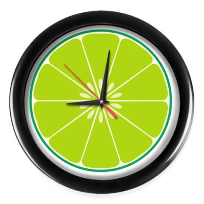 Настенные часы Лайм