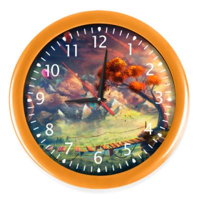 Настенные часы Часы Orange tree