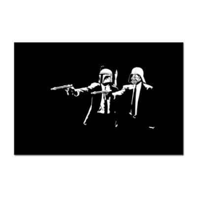 Наклейка (стикер) Star Wars: Hands up!