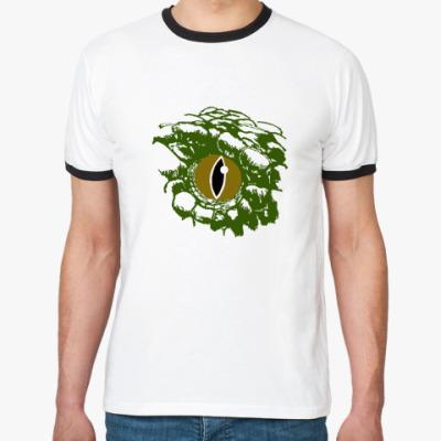 Футболка Ringer-T Глаз змеи
