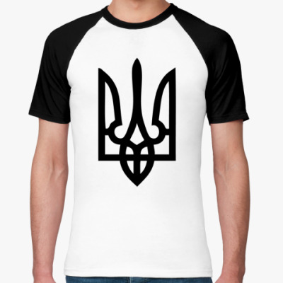 Футболка реглан Герб Украины