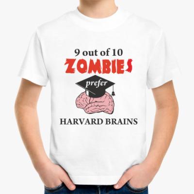 Детская футболка Harvard brains