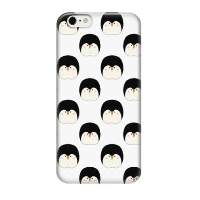 Чехол для iPhone 6/6s Пингвины