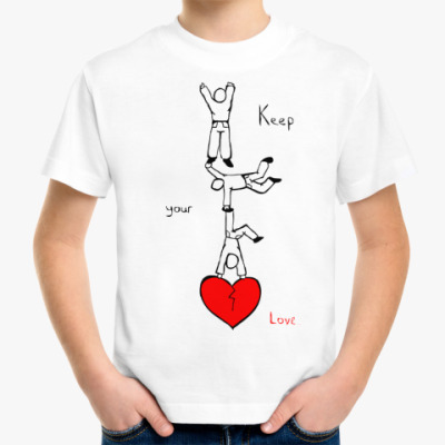 Детская футболка Береги свою любовь