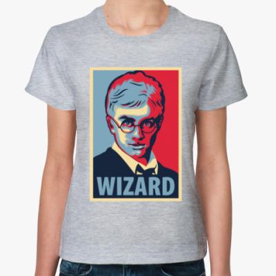 Женская футболка Wizard