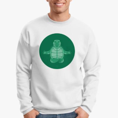 Свитшот Animal Zen: T is for Turtle