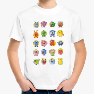 Детская футболка Монстры