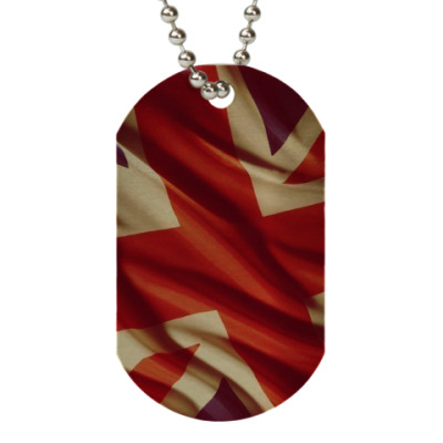 Жетон dog-tag UK