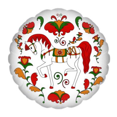 Подушка Русский орнамент / Russian folk ornament
