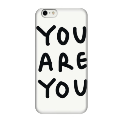 Чехол для iPhone 6/6s you are you