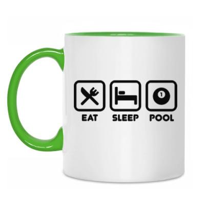Кружка Eat Sleep Pool