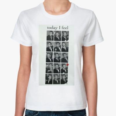 Классическая футболка David Tennant
