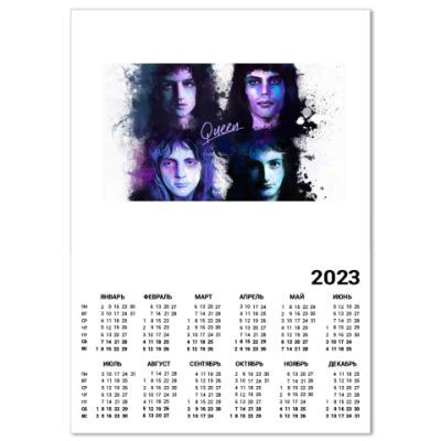Календарь Queen