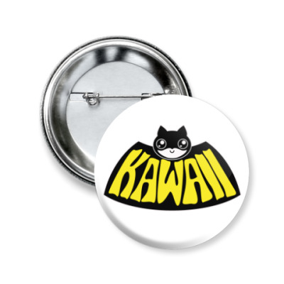 Значок 50мм Kawaii Batman
