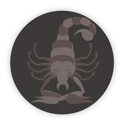 Костер (подставка под кружку) Animal Zen: S is for Scorpion