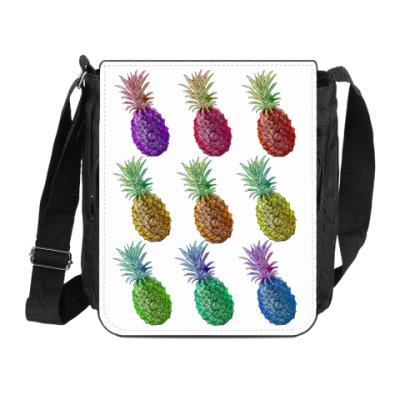 Сумка на плечо (мини-планшет) Pineapple
