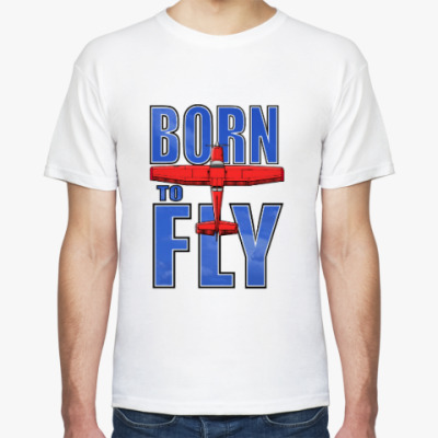 Футболка born to fly