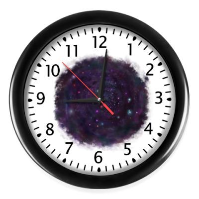 Настенные часы Среди звезд