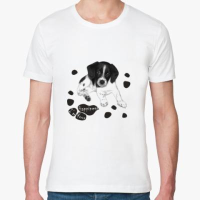 Футболка из органик-хлопка Милый пёсик