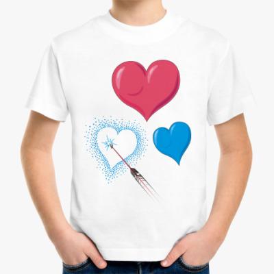 Детская футболка Сердце