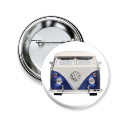 Значок 50мм Volkswagen Bus