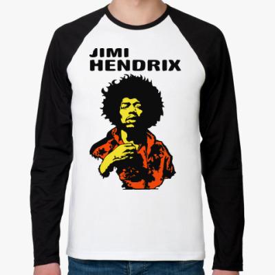 Футболка реглан с длинным рукавом Jimmi Hendrix