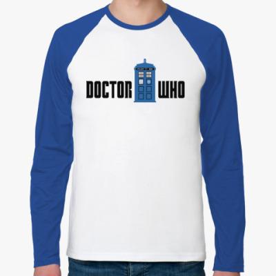 Футболка реглан с длинным рукавом TARDIS